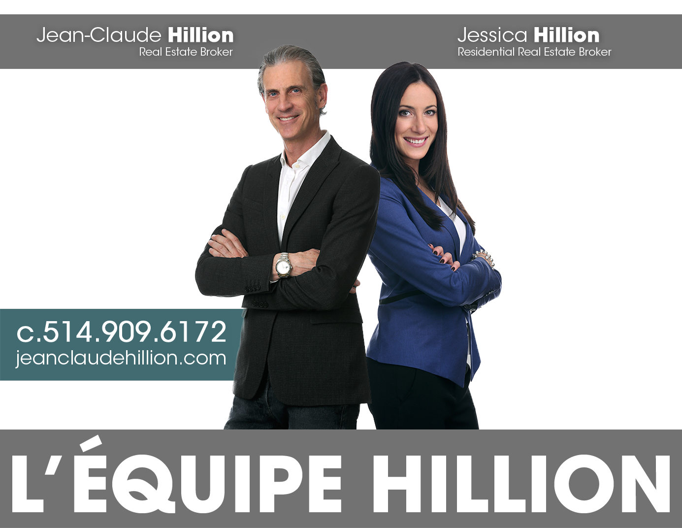 Jean-Claude Hillion, Jessica Hillion - Real Estate Brokers - RE/MAX AMBIANCE INC.